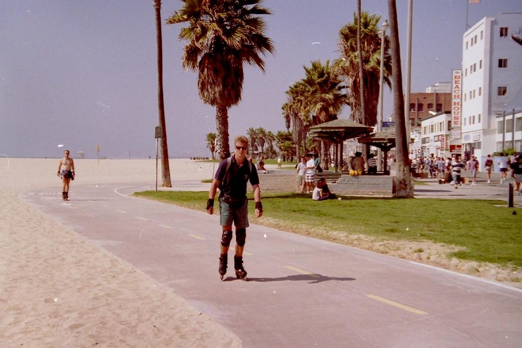 Venice Beach, Los Angeles, USA, 1987, 1990 and 1994.