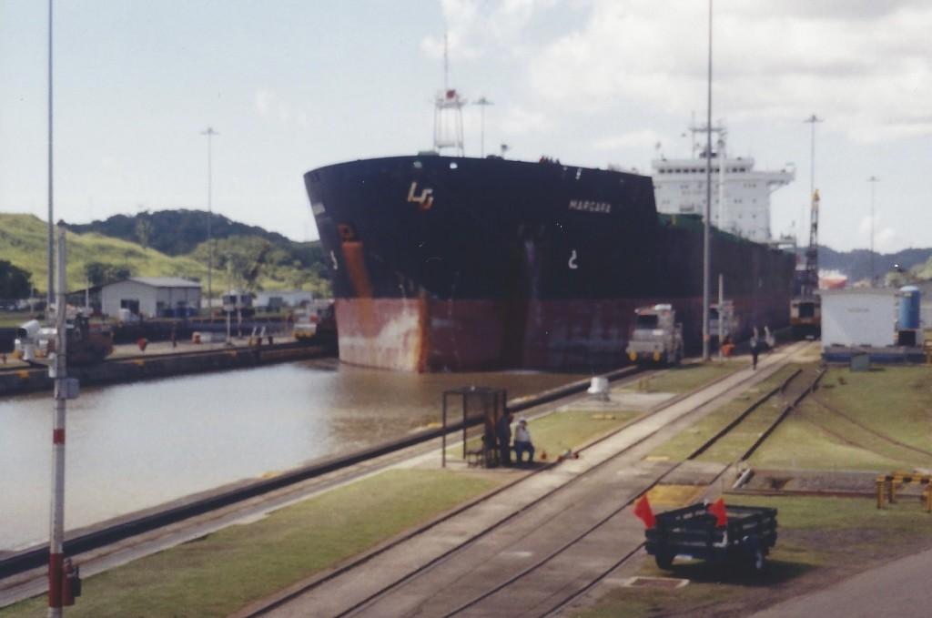 Panama Canal, Panama, 2001 and 2003