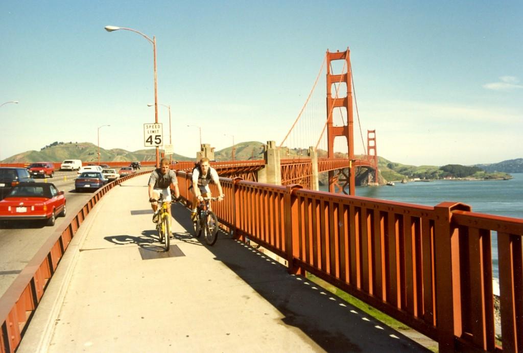 Golden Gate Bridge, San Francisco, USA 1996